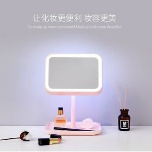 Stylish Unique Combination Lighted Makeup mirror and lamp