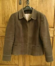 NEXT Ladies brown lined jacket with pale pink lining Size 14
