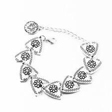 Silver Tibetan Triangle Gypsy Bracelet