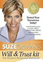 Suze Orman's Will & Trust Kit by Orman, Suze