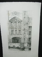 Wooster-College of Wooster-Etching-M. Rubard