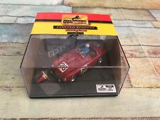 Diorama Voiture miniature Art Model Ferrari 166 MM Le Mans Porfirio 1/43 Italy