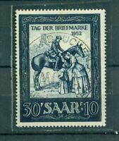Saarland, Tag der Briefmarke, Nr. 316 gestempelt