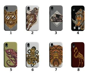 Steampunk Phone Case Cover Style Design Steam Punk Rust Rustic Retro Theme 8238J