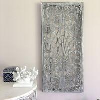Rectangle Grey Metal Wall Panel/Garden Art/Screen/Wall Decor Sculpture Outdoor