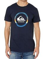 Quiksilver Mens T-Shirt Blue Size 2XL Snake Dreams Graphic Crewneck Tee 054