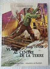 BD - Voyage au centre de la terre - Jules Verne Edition Française 1978