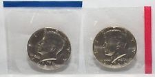 1981 P & D Kennedy  2 Coin Set 1- P & 1- D in U S Mint Cellophane  FREE SHIPPING