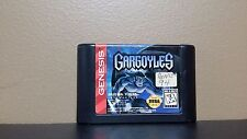 **Sega Genesis Gargoyles - Tested / Working - cart Only - Free Shipping!