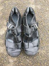 Size 8.5 Uk Black Keen All Terrain Walking Hiking Sandals Shoes Sample Stock