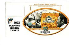 2002 Miami Dolphins Larry Csonka Retirement Game Ceremony Ticket