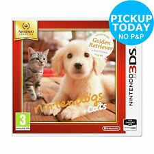 Nintendogs: Retreiver and Friends Nintendo Selects 3DS Game