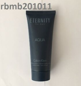 Eternity AQUA for Men by Calvin Klein After Shave Balm 3.4 oz - New & Fresh