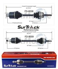 For Ford Windstar 1999-2000 FWD Pair of Front CV Axle Shafts SurTrack Set