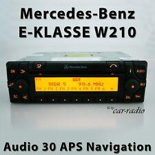 Original Mercedes Audio 30 APS W210 Navigationssystem E-Klasse S210 Navi Radio