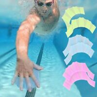 Swimming Half finger Hydra Hand Fins Webbed Gloves Super