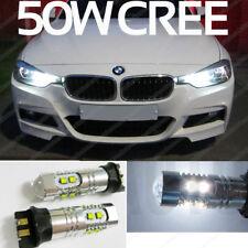 Bmw 320d feux de circulation diurne cree 50W led ampoules feux drl PW24W xenon blanc