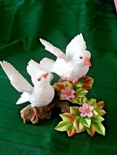 Lefton Porcelain White Dove Figurine