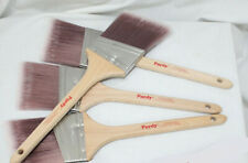 "4 Purdy Nylox Dale Paint Brushes 3"" Angled All Paints Lot New Unused Painters"
