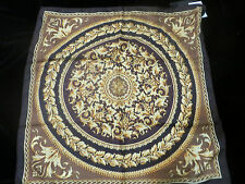 NWT VERSACE SILK SCARF MADE IN ITALY