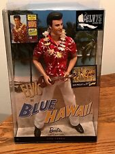 ELVIS IN BLUE HAWAII DOLL  BARBIE COLLECTORS EDITION ~ NEW IN BOX!  2009 MATTEL
