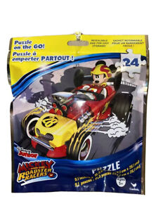 Disney Mickey Mouse Roadster Racers 24pc Puzzle On The Go!