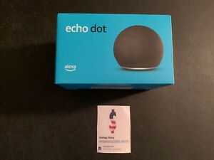 Amazon Echo Dot (4th Gen) Smart speaker with Alexa - Charcoal - IN STOCK!