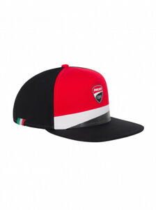 Official Ducati Corse Flat Visor Cap 20 46006
