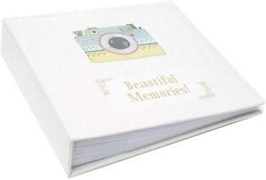 "Large Ringbinder Photo Album Photos Coloured Design Holds 500 6x4"" Photos"