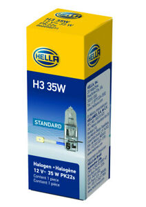 Fog Light Bulb Front Hella H3 35W