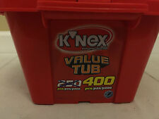 K'nex (2) 400pc Value Tub Sets in One (~800 total pcs) Motorized Building Toys