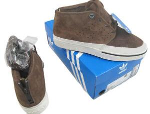 NEW Burton & Adidas Vulc Mid KZK Sneakers!  Brown  US 8 JP 260   Kazuki Kuraishi