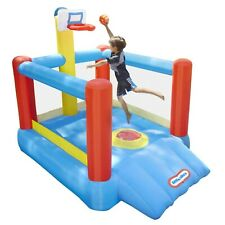 NEW Little Tikes - Super Slam N' Dunk - Inflatable Basketball Bounce Court