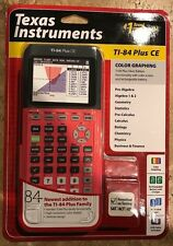 Texas Instruments TI 84 Plus Ce (Coral)