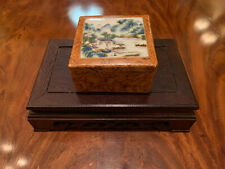 New listing A Rare Chinese Antique Famille Rose Porcelain Box, Marked.