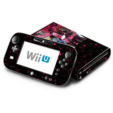 Skin Decal Cover for Nintendo Wii U Console & GamePad - Monster High Ghoul