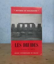 GAULE IRLANDE RELIGION MAGIE CULTURE LES DRUIDES (FRANCOISE LE ROUX 1961).