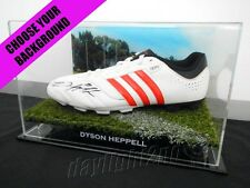 ✺Signed✺ DYSON HEPPELL Football Boot PROOF COA Essendon Bombers 2018 Guernsey