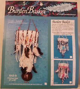 Brown Burden Basket Beaded Hanger Native Southwestern Craft Kit Mac Enterprises