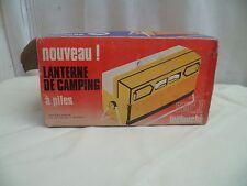Ancienne lanterne de camping a piles
