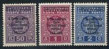 Lubiana 1941 Sass. 11-13 Nuovo ** 100% Commissariato