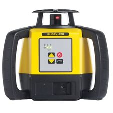 Leica RUGBY 620 ROTATING LASER LEVEL 600m Single Grade, Red Beam +4xBatteries