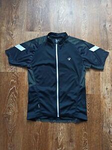 Bontrager Cycling Jersey Shirt Mens Size XL Black Full Zip