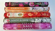 Hem Incense Stick Set 5 x 20=100 Sticks #1 Mixed Flowers Scents Free Shipping