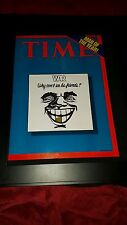 War Why Can't We Be Friends? Rare Time Magazine Cover Promo Poster Ad Framed!