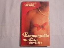Emmanuelle Arsan: EMMANUELLE oder DER GARTEN DER LIEBE / BUCH Erotik-Roman