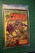 CONAN THE BARBARIAN #30 CGC GRADED AT 9.6 SEPT 1973 OFF-WHITE TO WHITE PAGES