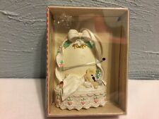 Collectible Holly Bearies Bear Christmas Ornament  Kurt S. Adler Baby