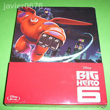 BIG HERO 6 CLASICO DISNEY 56 BLU-RAY NUEVO Y PRECINTADO STEELBOOK