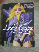 lady gaga Purple Reign rare DVD TV en Concert performances 2011 silver disc